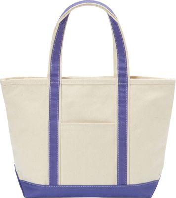 Rhombus Canvas Boat Tote Medium Slate Blue - Rhombus Canvas Fabric Handbags