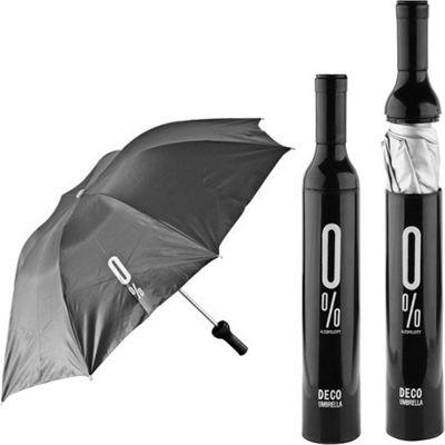 Koolulu Wine Umbrella Black - Koolulu Umbrellas and Rain Gear