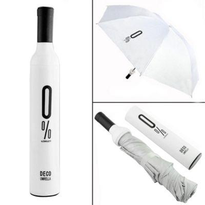 Koolulu Wine Umbrella White - Koolulu Umbrellas and Rain Gear