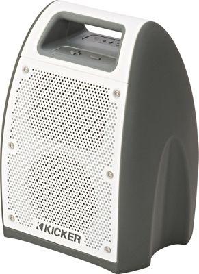 Kicker Bullfrog Outdoor Bluetooth Music System Grey - Kicker Portable Entertainment