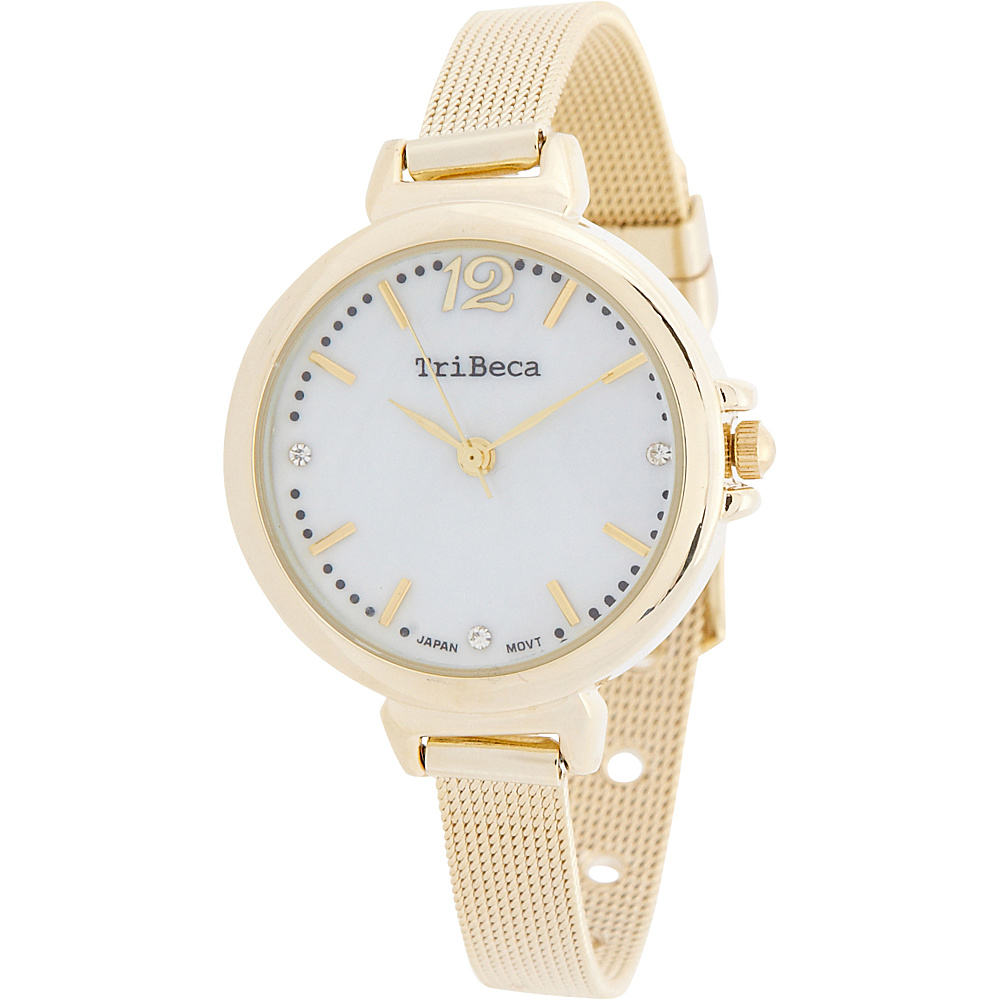 Samoe Womens Mesh Bracelet Watch Gold Samoe Watches