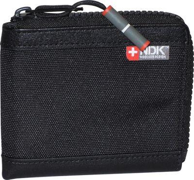Nidecker Design Capital Collection Zip-Around Wallet Black - Nidecker Design Men's Wallets