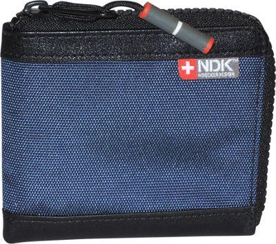 Nidecker Design Capital Collection Zip-Around Wallet Indigo - Nidecker Design Men's Wallets