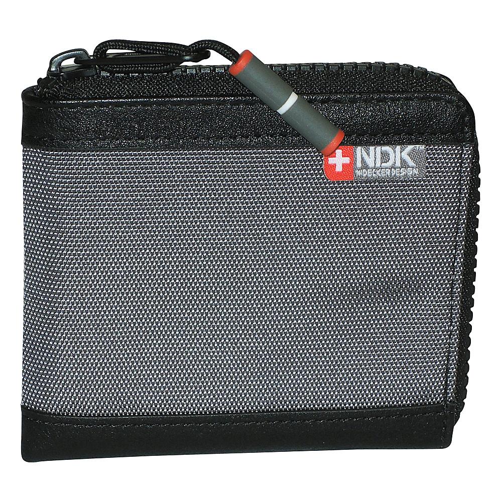 Nidecker Design Capital Collection Zip Around Wallet Shale Nidecker Design Men s Wallets