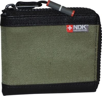 Nidecker Design Capital Collection Zip-Around Wallet Moss - Nidecker Design Men's Wallets