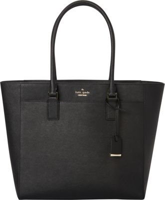 kate spade new york Cameron Street Havana Shoulder Bag Black - kate spade new york Designer Handbags