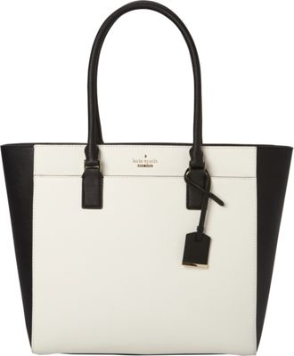 kate spade new york Cameron Street Havana Shoulder Bag Black/Cement - kate spade new york Designer Handbags