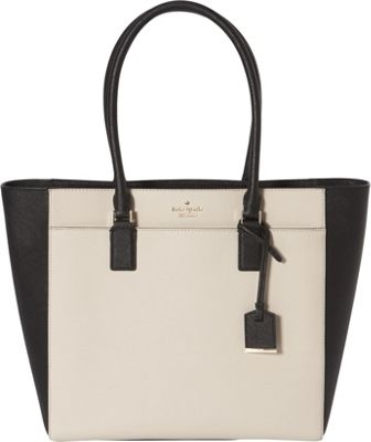 kate spade new york Cameron Street Havana Shoulder Bag Tusk/Black - kate spade new york Designer Handbags