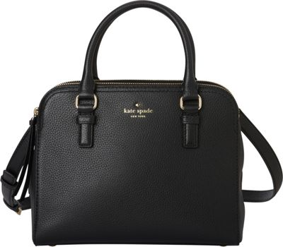 kate spade new york Cobble Hill Small Kiernan Satchel Black - kate spade new york Designer Handbags