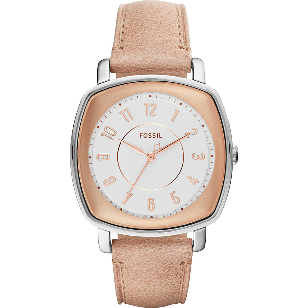 Fossil Idealist 3-Hand Leather Watch Light Brown - Fossil Watches - Fashion Accessories, Watches
