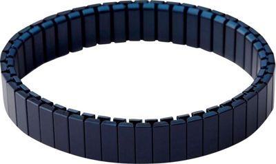 Rilee & Lo Stacking Bracelet for the Apple Watch - Satin - S/M Navy - Rilee & Lo Wearable Technology