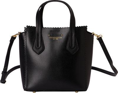 Tignanello Spring Fling Mini Tote Black/Black - Tignanello Leather Handbags