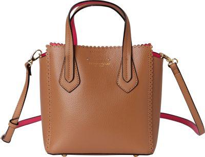Tignanello Spring Fling Mini Tote Vachetta/Neon Pink - Tignanello Leather Handbags
