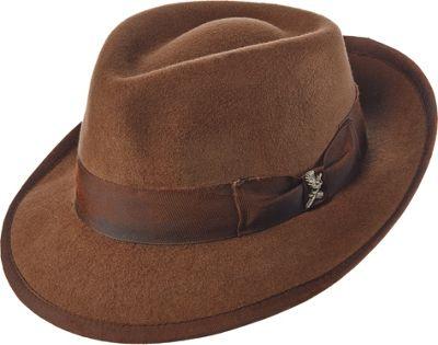 Carlos Santana Hats Nostalgia Hat XL - Brown - Xlarge - Carlos Santana Hats Hats