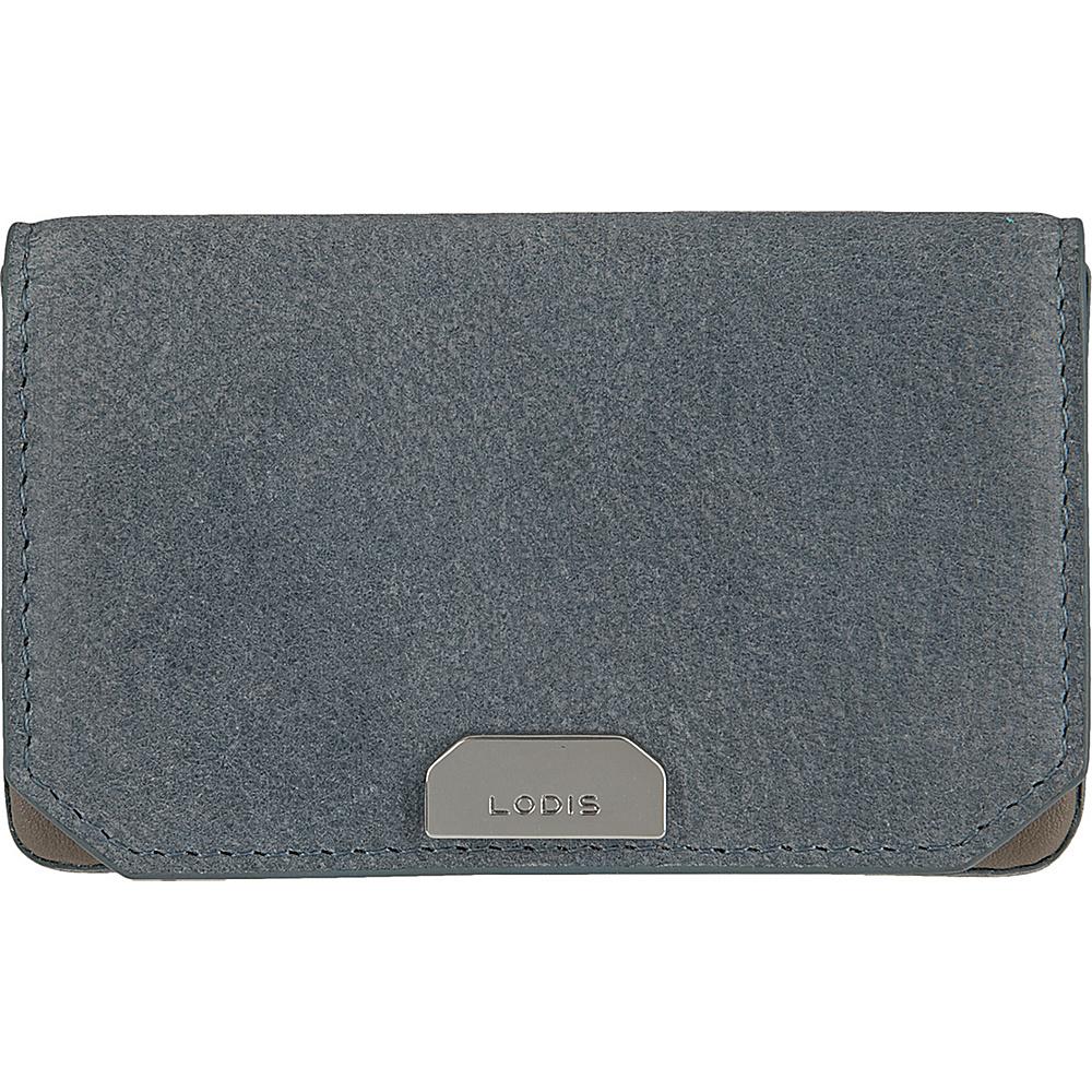 Lodis Gijon Mini Card Case Navy - Lodis Womens Wallets - Women's SLG, Women's Wallets