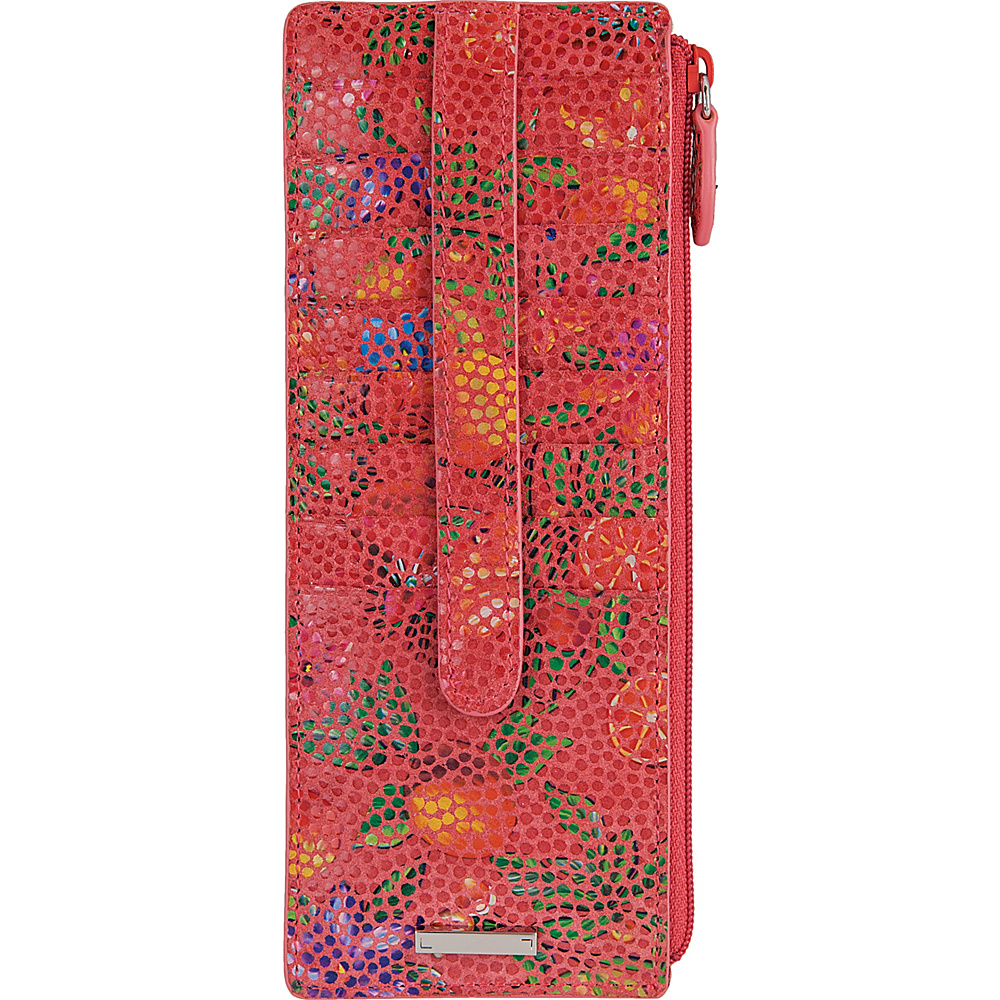 Lodis Fruitilicious Credit Card Case with Zipper Pocket Cherry - Lodis Womens Wallets - Women's SLG, Women's Wallets