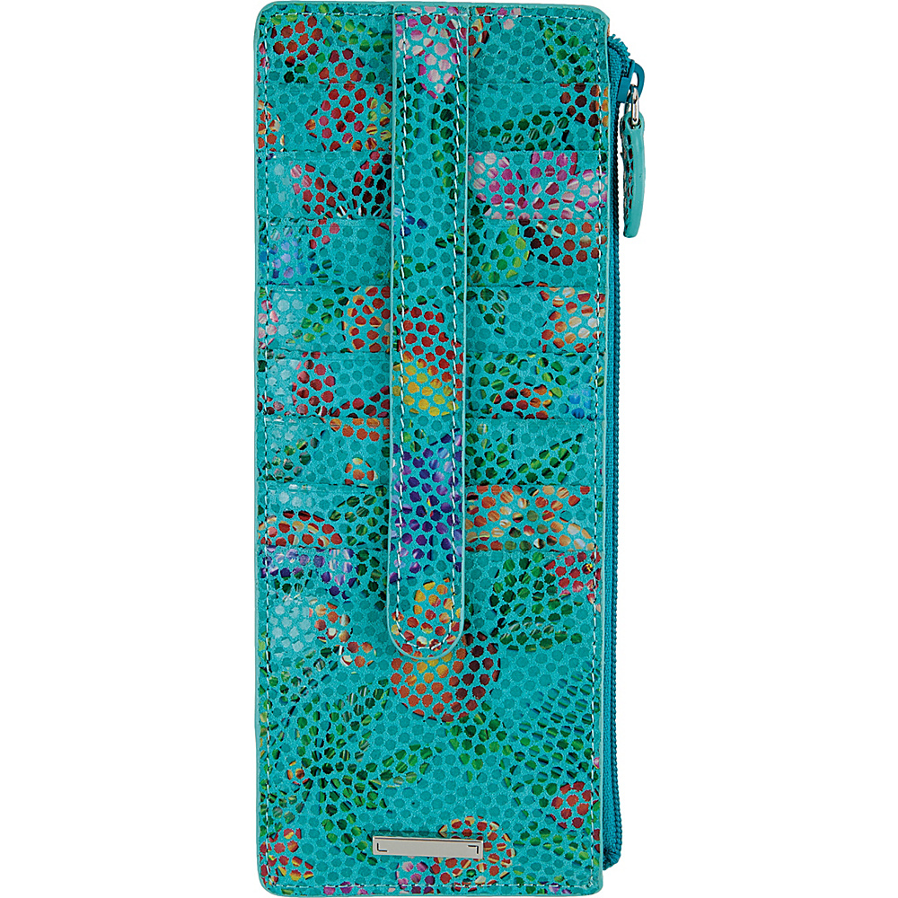 Lodis Fruitilicious Credit Card Case with Zipper Pocket Twilight - Lodis Womens Wallets - Women's SLG, Women's Wallets