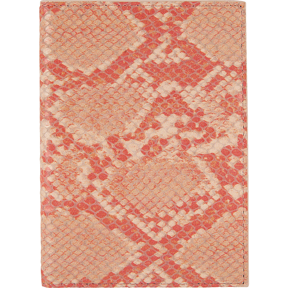 Lodis Kate Exotic Passport Cover Pink/Cream - Lodis Travel Wallets - Travel Accessories, Travel Wallets