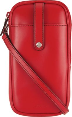 Lodis Audrey Blossom Mini Crossbody Red - Lodis Leather Handbags
