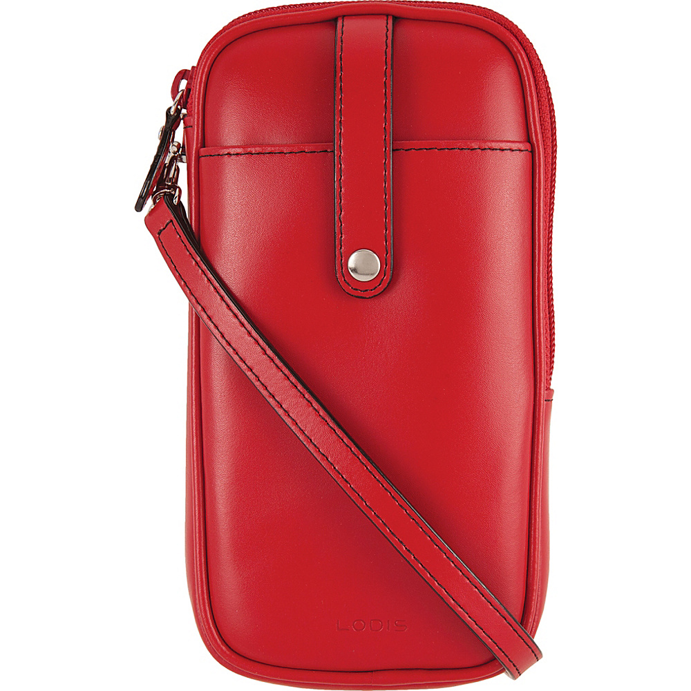 Lodis Audrey Blossom Mini Crossbody Red - Lodis Leather Handbags - Handbags, Leather Handbags