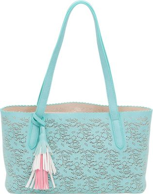 BUCO Small Solid Butterfly Tote Mint - BUCO Manmade Handbags