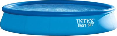 Intex 15' x 33 Easy Set Pool Set Blue - Intex Outdoor Accessories