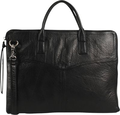 Day & Mood Vera Laptop Bag Black - Day & Mood Messenger Bags