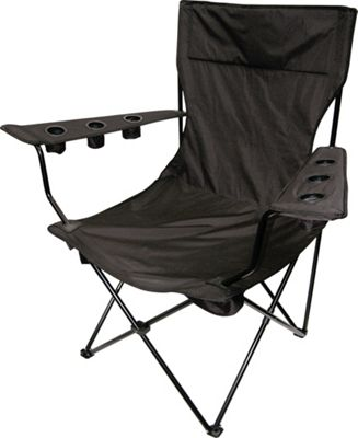 Creative Outdoor Kingpin Folding Chair Black - Creative Outdoor Outdoor Accessories