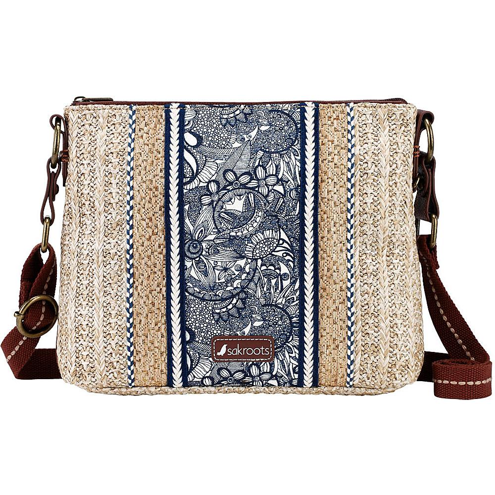Sakroots Pacific Basic Crossbody Navy Spirit Desert - Sakroots Fabric Handbags - Handbags, Fabric Handbags
