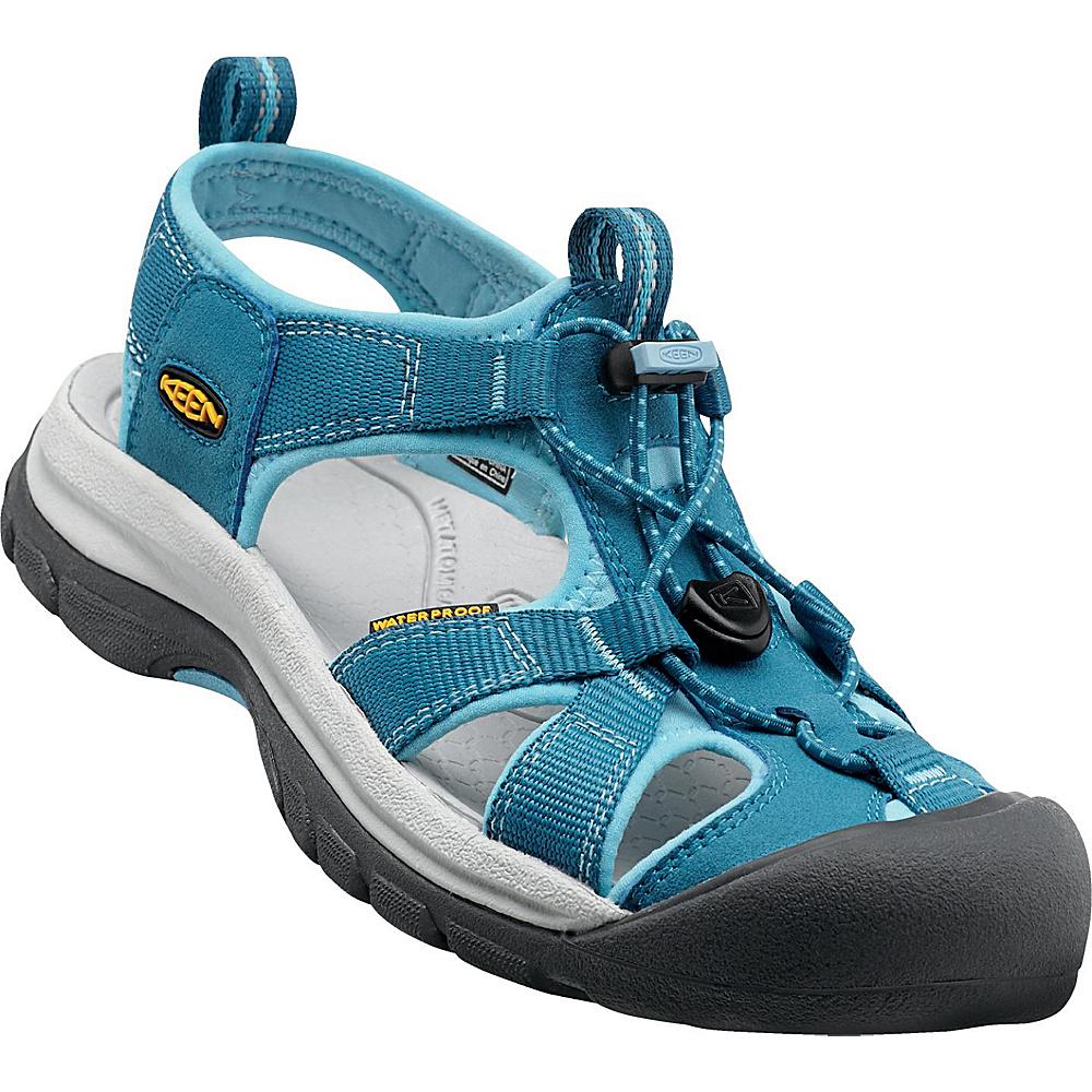KEEN Womens Venice H2 Sandal 5.5 - Celestial/Blue Grotto - KEEN Womens Footwear - Apparel & Footwear, Women's Footwear