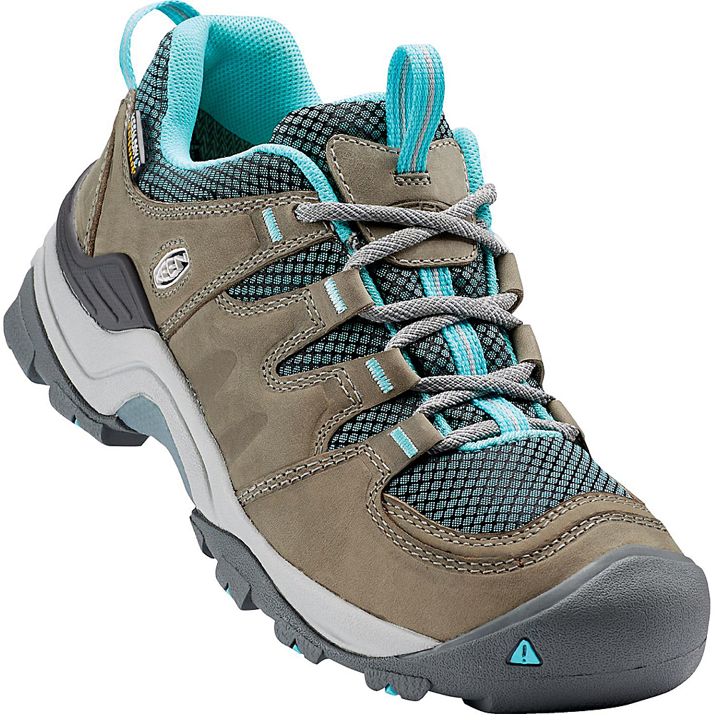 KEEN Womens Gypsum II Waterproof Boot 9 - Neutral Gray/Radiance - KEEN Mens Footwear - Apparel & Footwear, Men's Footwear