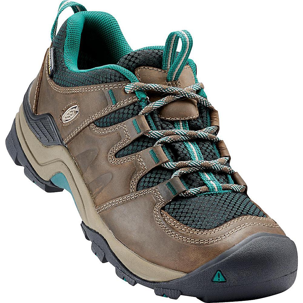 KEEN Womens Gypsum II Waterproof Boot 9 - Shitake/Everglade - KEEN Mens Footwear - Apparel & Footwear, Men's Footwear