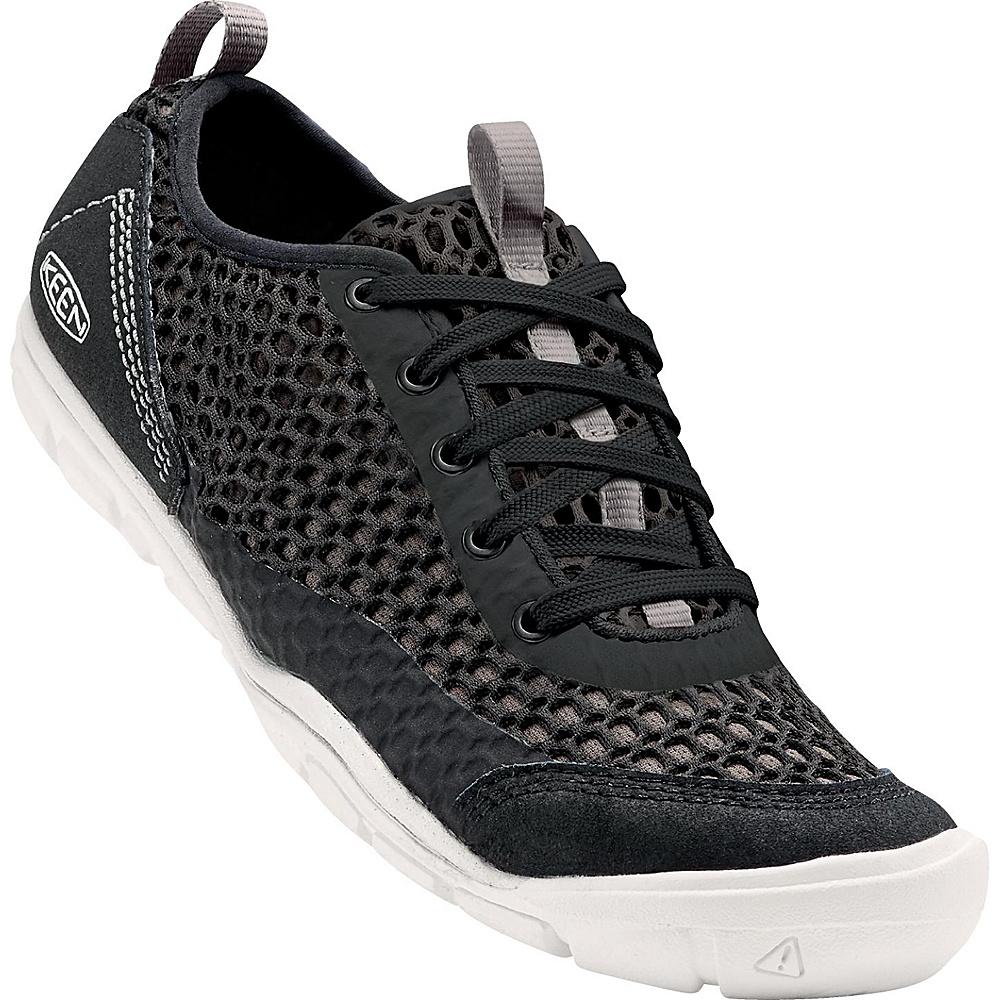 KEEN Womens CNX Mercer Lace ll Shoe 7 - Black / Gargoyle - KEEN Womens Footwear - Apparel & Footwear, Women's Footwear