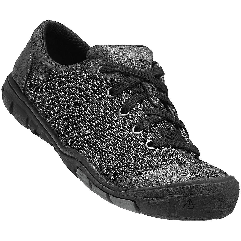 KEEN Womens CNX Mercer Lace ll Shoe 9 - Black - KEEN Womens Footwear - Apparel & Footwear, Women's Footwear