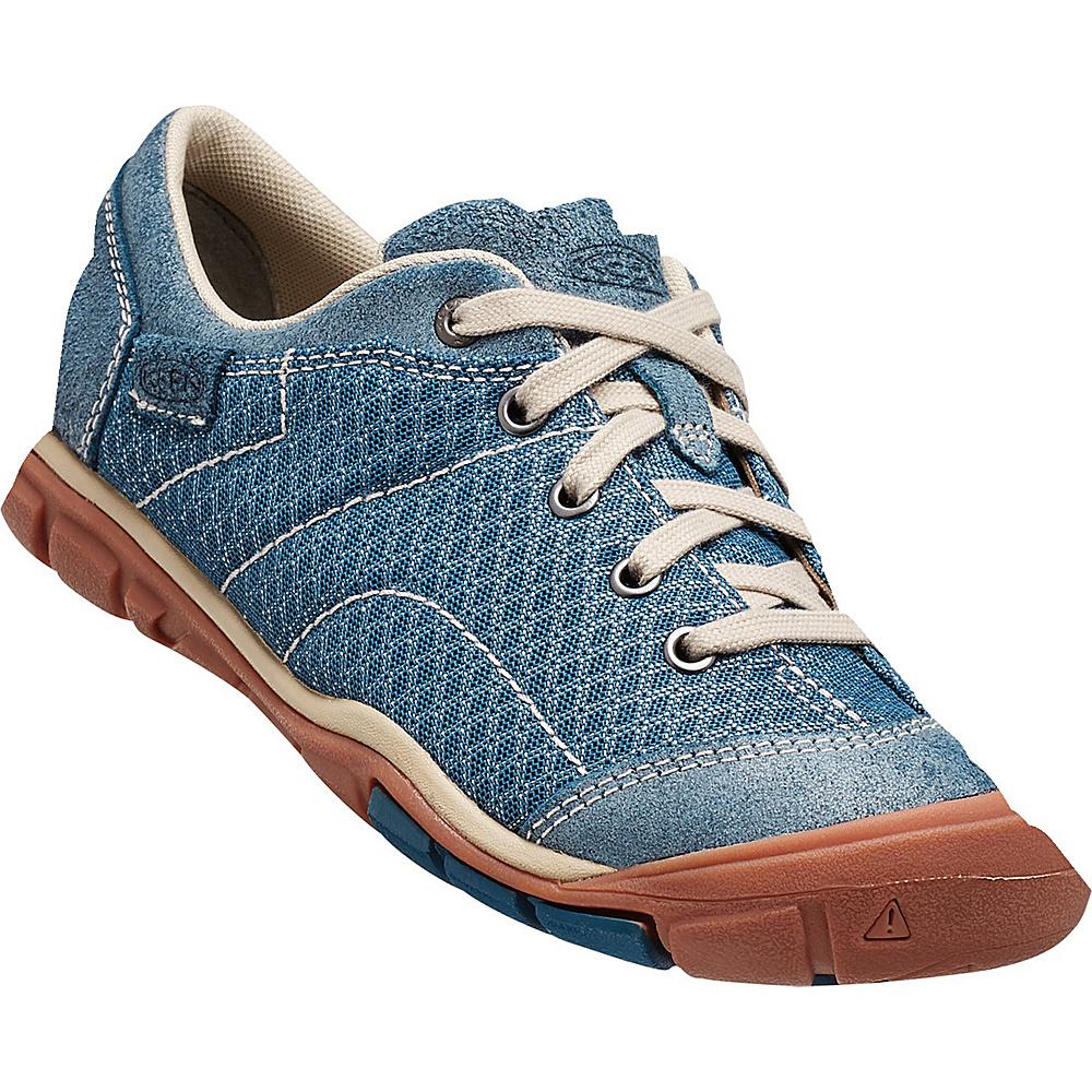KEEN Womens CNX Mercer Lace ll Shoe 9.5 - Indian Teal - KEEN Womens Footwear - Apparel & Footwear, Women's Footwear