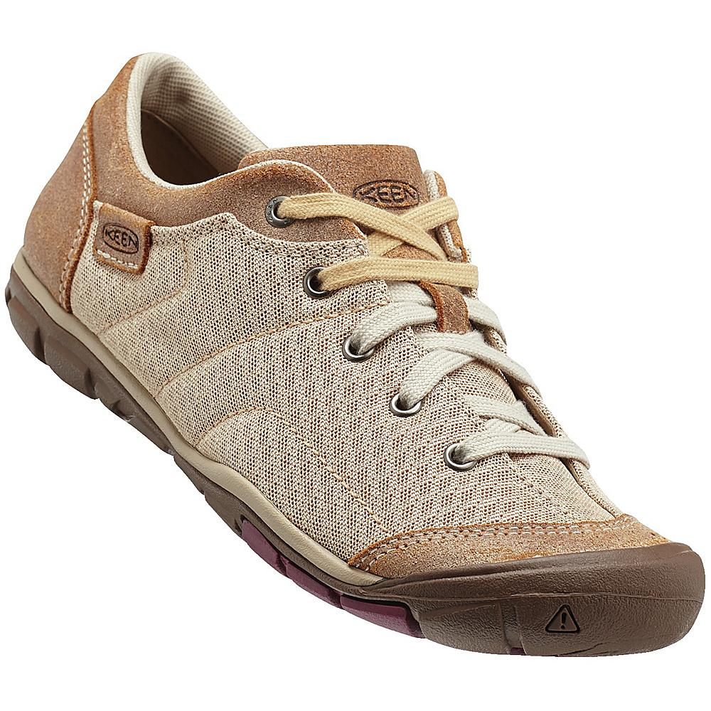 KEEN Womens CNX Mercer Lace ll Shoe 9 - Latte - KEEN Womens Footwear - Apparel & Footwear, Women's Footwear
