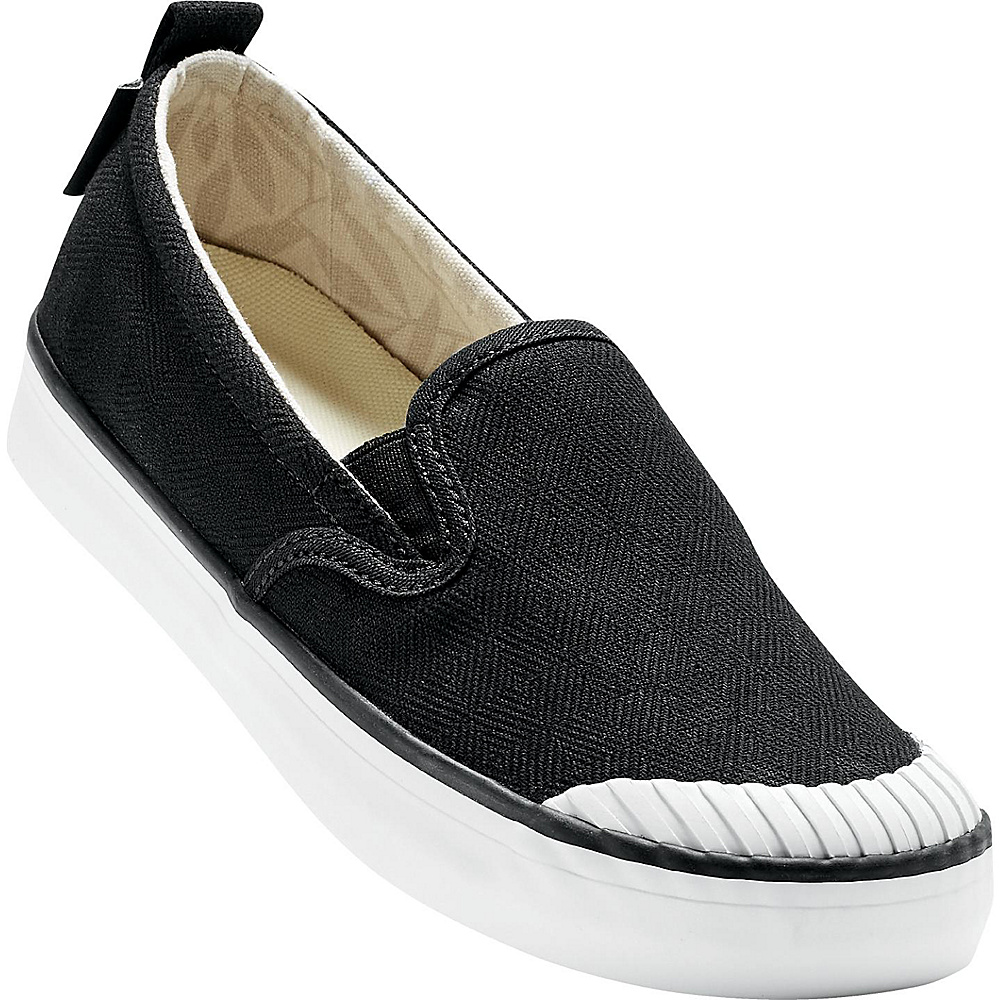 KEEN Womens Elsa Slip-On 5 - Black/Star White - KEEN Womens Footwear - Apparel & Footwear, Women's Footwear