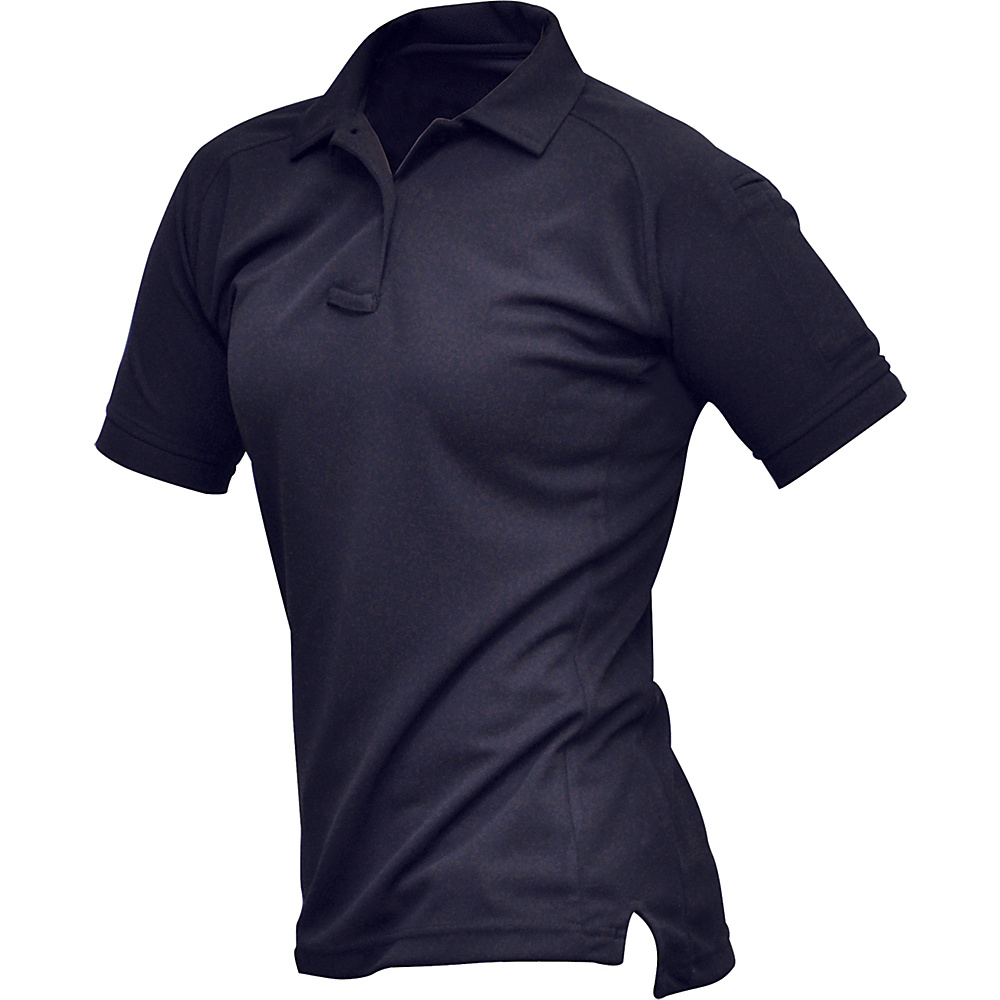 Vertx Womens Coldblack Short Sleeve Polo L - Navy - Vertx Womens Apparel - Apparel & Footwear, Women's Apparel
