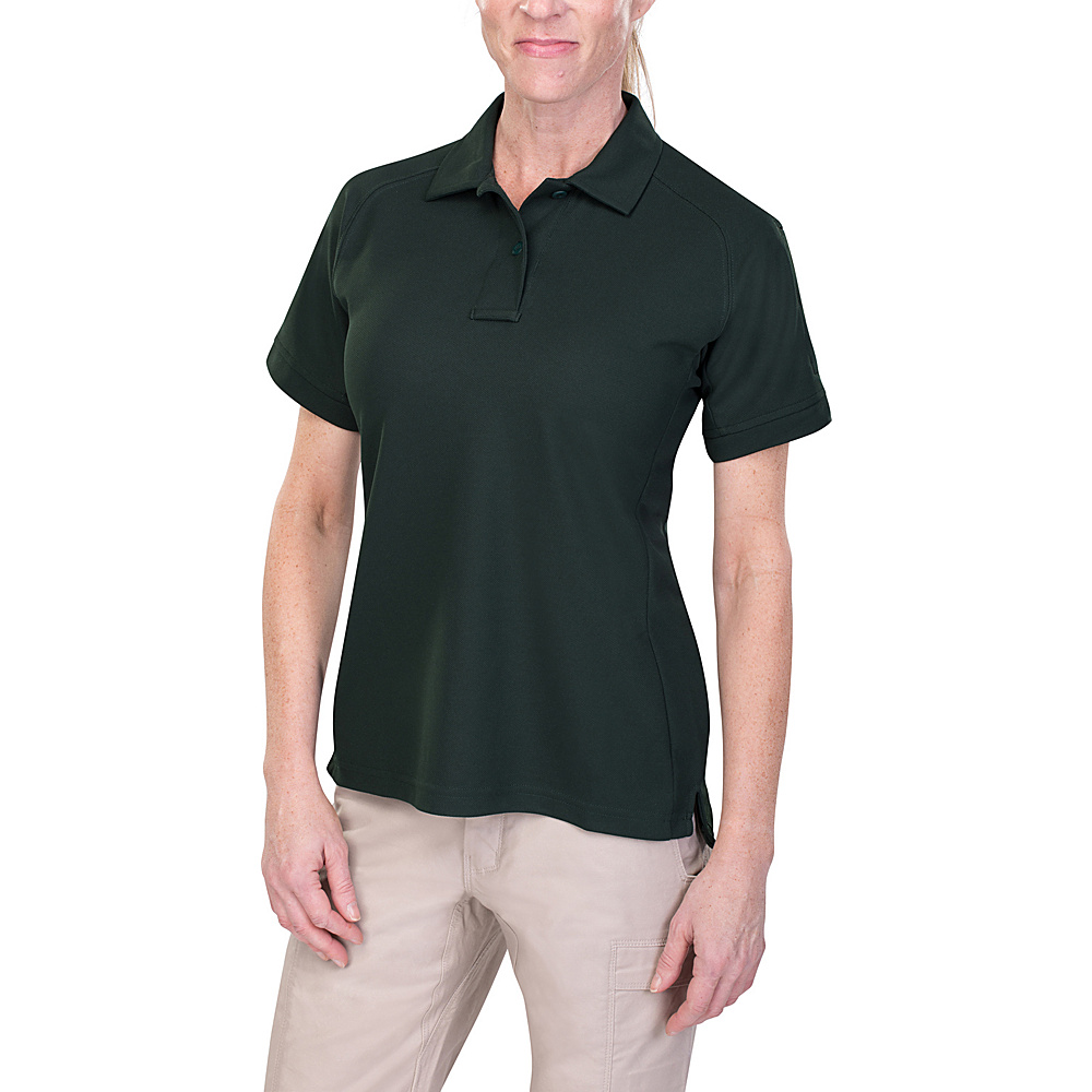 Vertx Womens Coldblack Short Sleeve Polo XS - Spruce Green - Vertx Womens Apparel - Apparel & Footwear, Women's Apparel