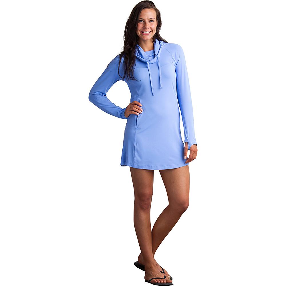 ExOfficio Womens Sol Cool Performance Hoody Dress XS - Cornflower - ExOfficio Womens Apparel - Apparel & Footwear, Women's Apparel
