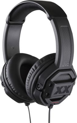 JVC XX Series Headphones with 50mm Drivers and Mic/Remote Black - JVC Headphones & Speakers
