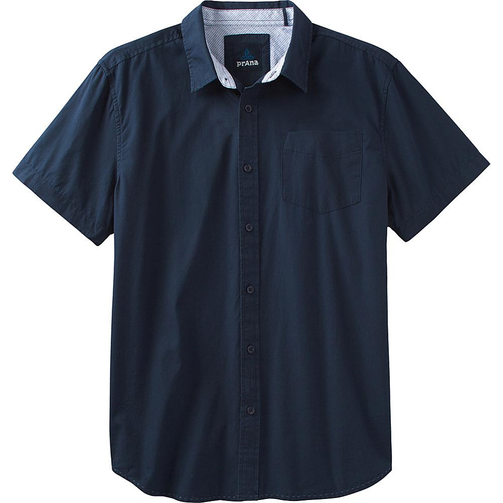 PrAna Ecto Shirt XXL - Dress Blue - PrAna Mens Apparel - Apparel & Footwear, Men's Apparel