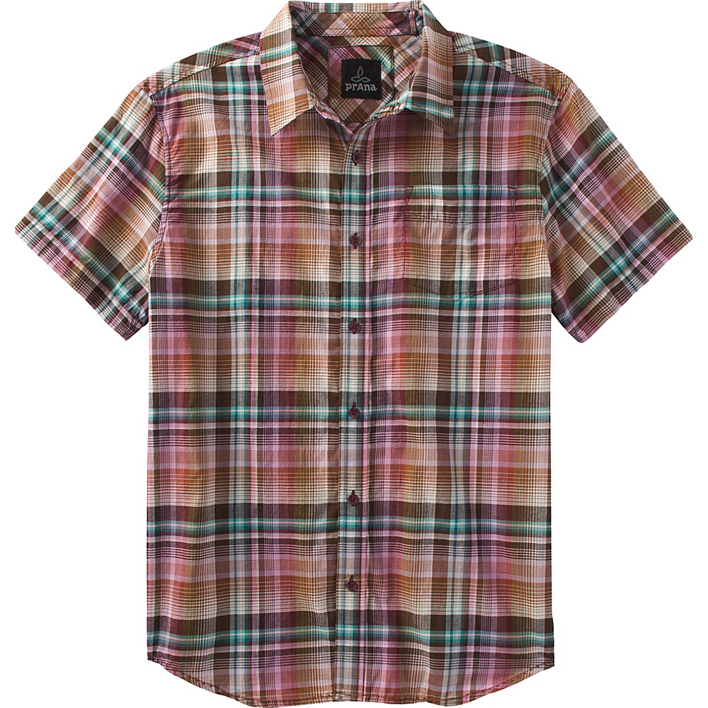 PrAna Ecto Shirt M - Grapevine - PrAna Mens Apparel - Apparel & Footwear, Men's Apparel