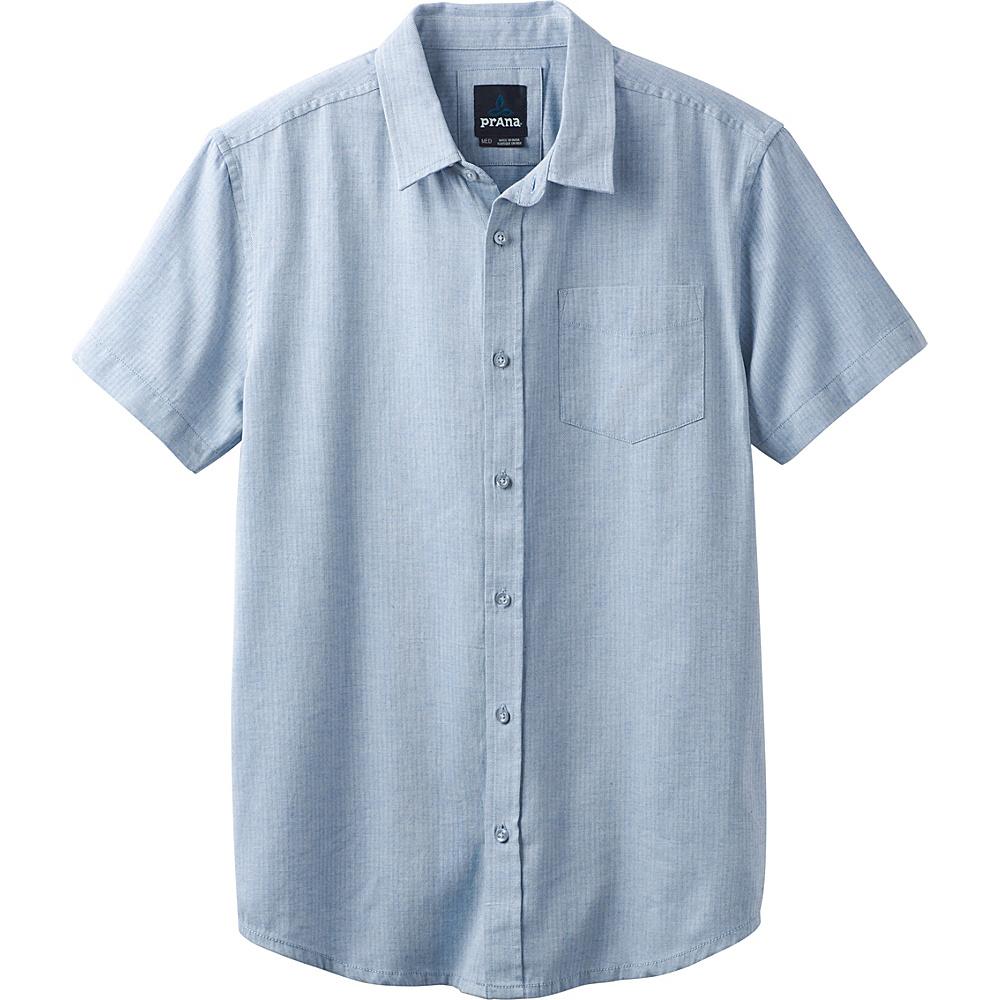 PrAna Ecto Shirt XL - Island Blue - PrAna Mens Apparel - Apparel & Footwear, Men's Apparel