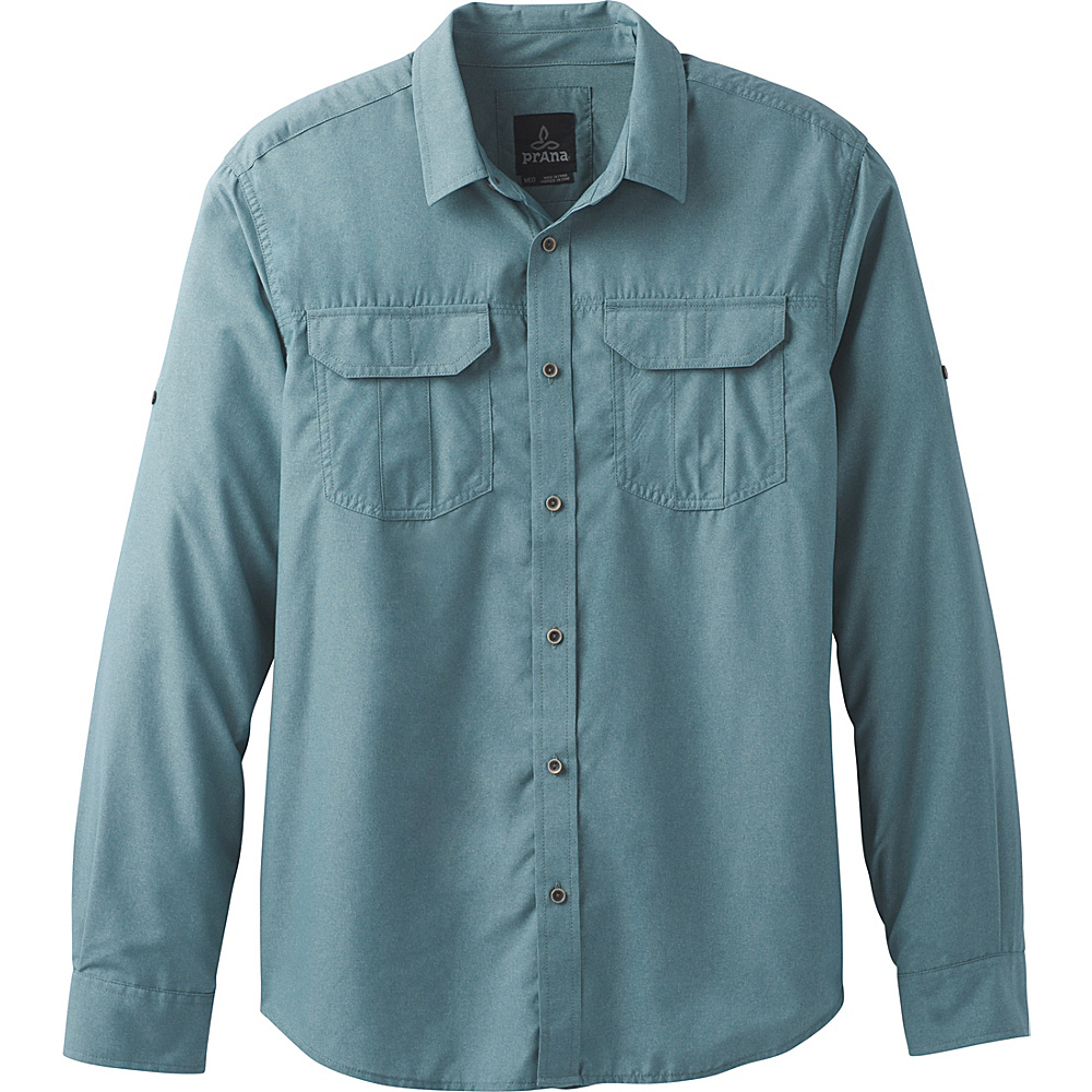 PrAna Citadel Shirt XL - Starling Green - PrAna Mens Apparel - Apparel & Footwear, Men's Apparel