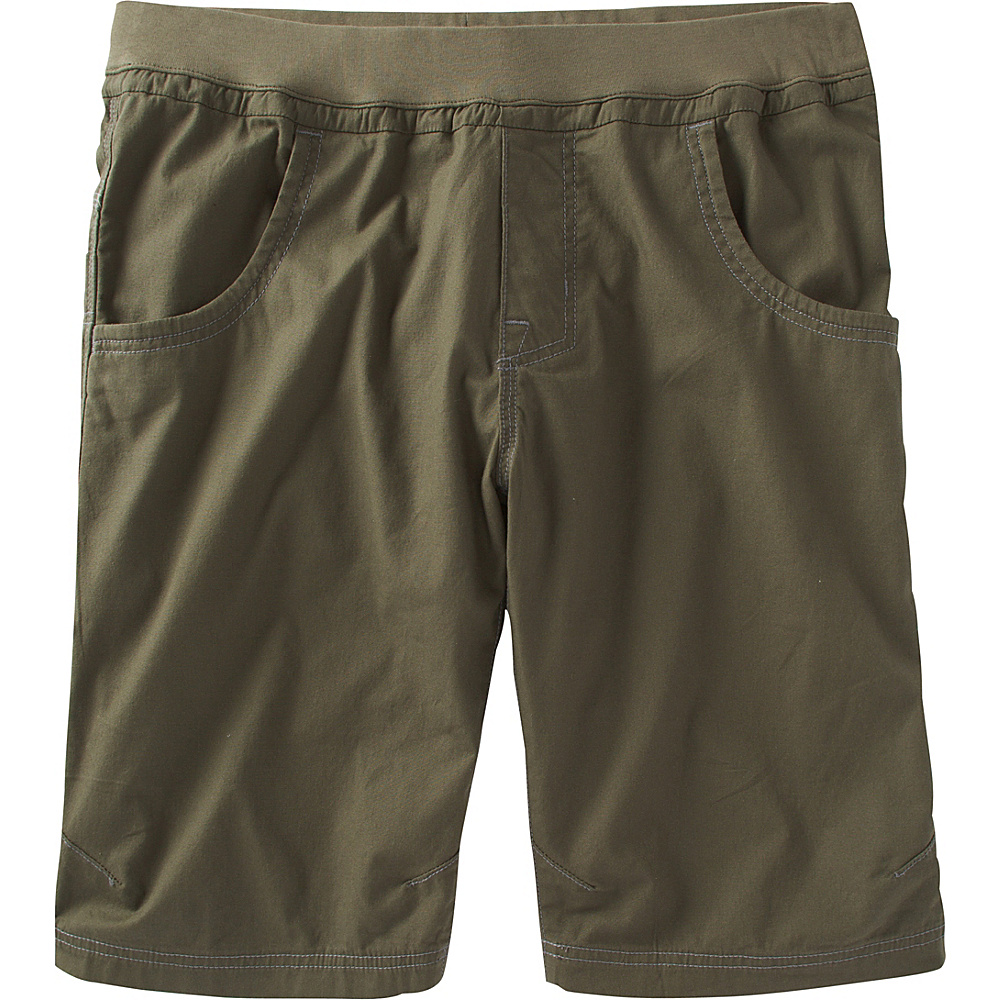 PrAna Zander Short S - 12in - Cargo Green - PrAna Mens Apparel - Apparel & Footwear, Men's Apparel