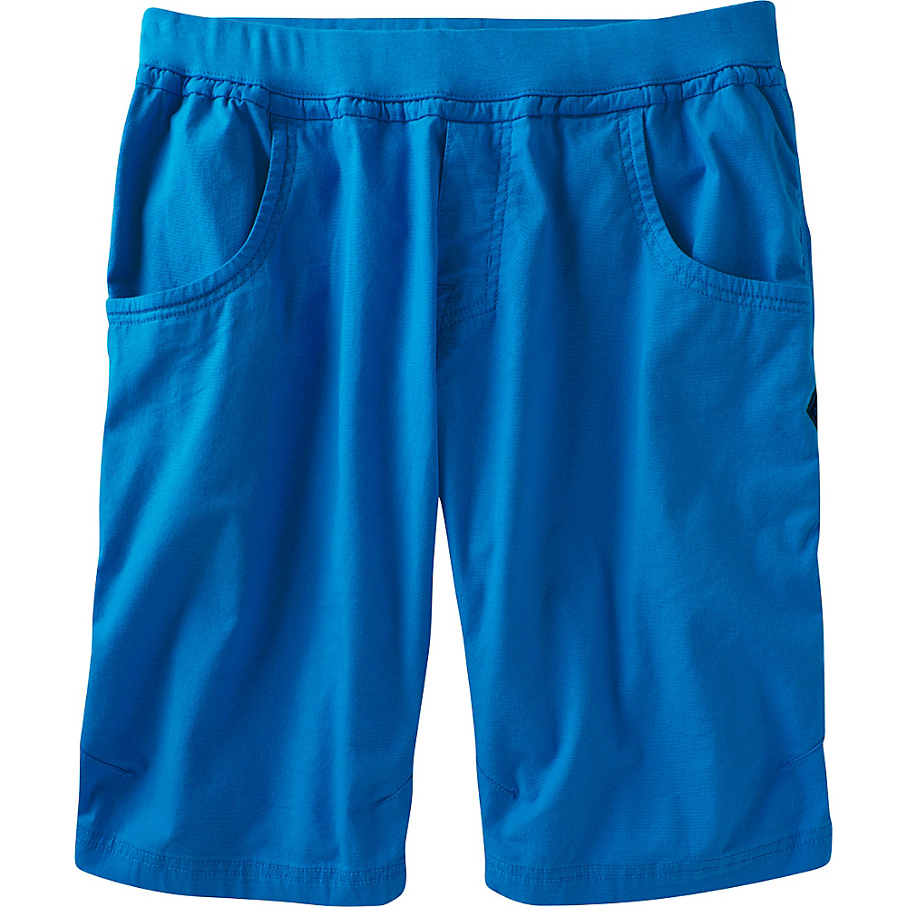 PrAna Zander Short S - 12in - Vortex Blue - PrAna Mens Apparel - Apparel & Footwear, Men's Apparel