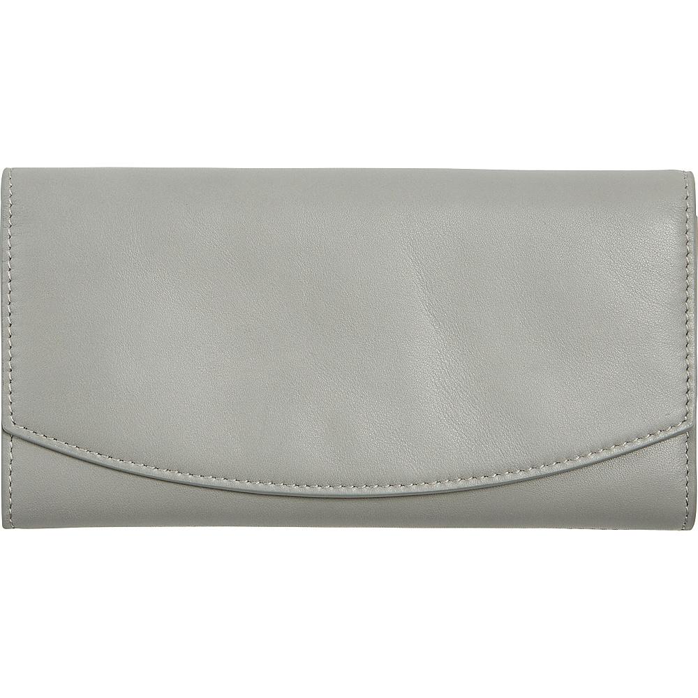 Women's Skagen Leather Wallet - Grey