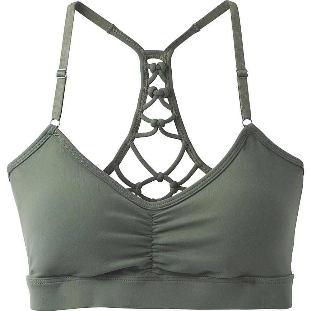 PrAna Elixir Bra M - Forest Green - PrAna Womens Apparel - Apparel & Footwear, Women's Apparel