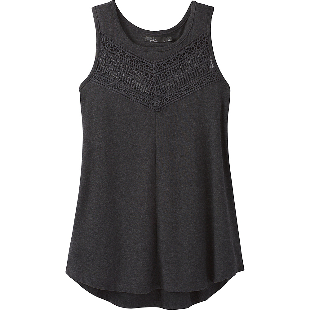 PrAna Petra Swing Top L - Black - PrAna Womens Apparel - Apparel & Footwear, Women's Apparel